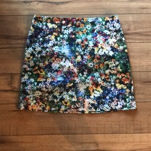 Grace Floral Mini Skirt